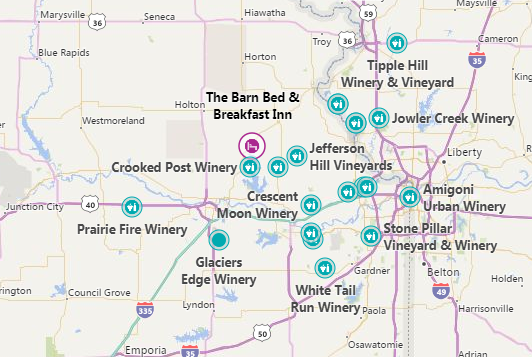 Kansas Wineries Bed And Breakfast