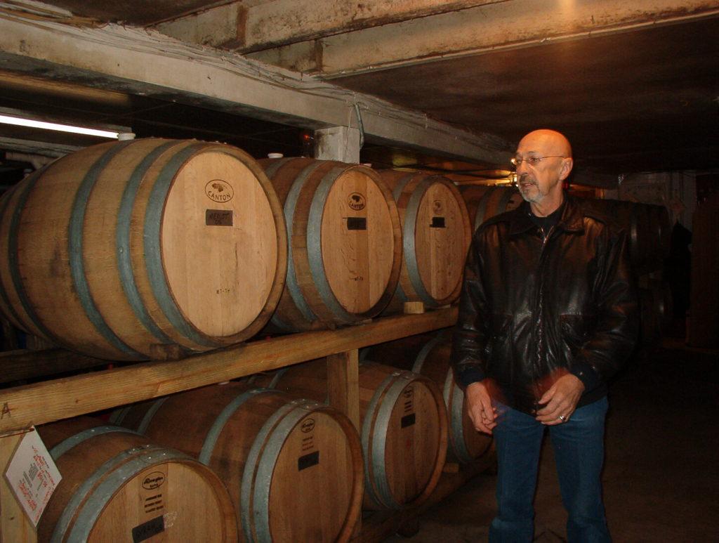 Tour of Breitenbach Winery in Dover, Ohio.